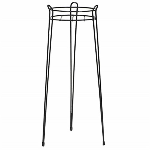 CobraCo S1030-B 30 in. Basic Plant Stand - Black Perspective: front