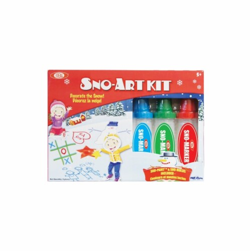 Ideal Sno Toys Sno-Art Kit Perspective: front