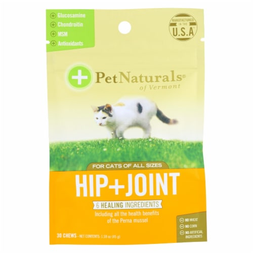 Pet Naturals Hip & Joint Cat Chew Perspective: front