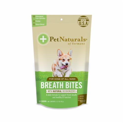 Pet Naturals Breath Bites Dog Chew Perspective: front