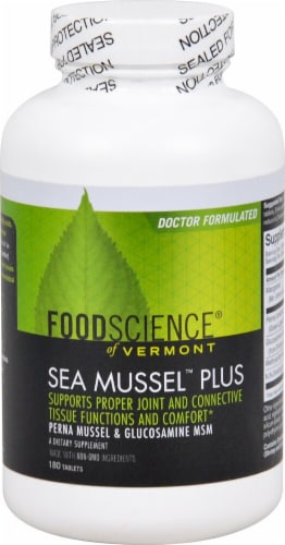 FoodScience of Vermont  Sea Mussel™ Plus Perspective: front
