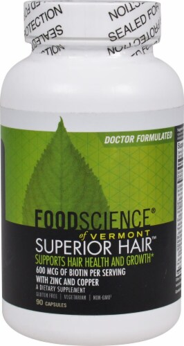 FoodScience of Vermont  Superior Hair™ Perspective: front