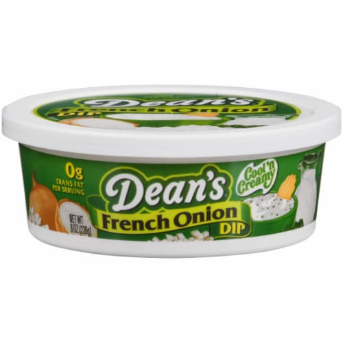 Dean's French Onion Dip Perspective: front