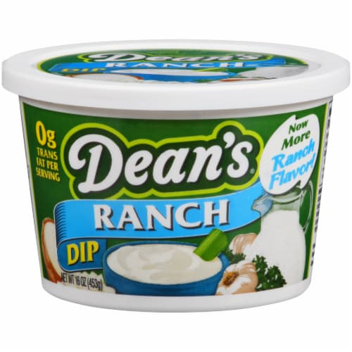 Dean's Ranch Dip Perspective: front