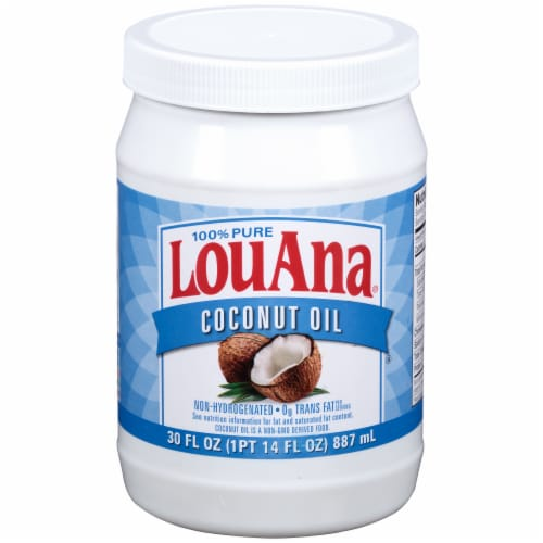 LouAna® Pure Coconut Oil Perspective: front