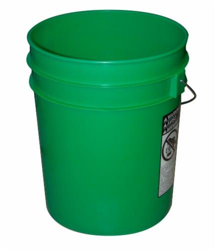 Argee Heavy Duty Plastic Pail Green 5 Gal Fred Meyer
