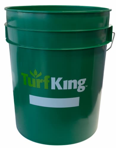 Turf King Bucket - Green Perspective: front