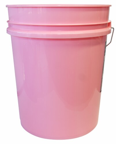 Argee Bucket - Pink Perspective: front