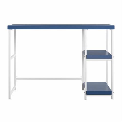 Kimberly Desk with Reversible Shelves Perspective: front