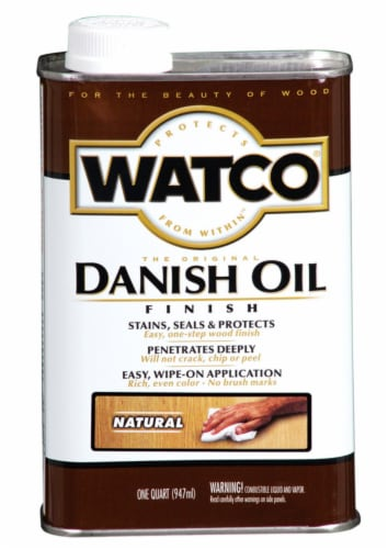 Watco® Danish Oil Finish - Natural Perspective: front