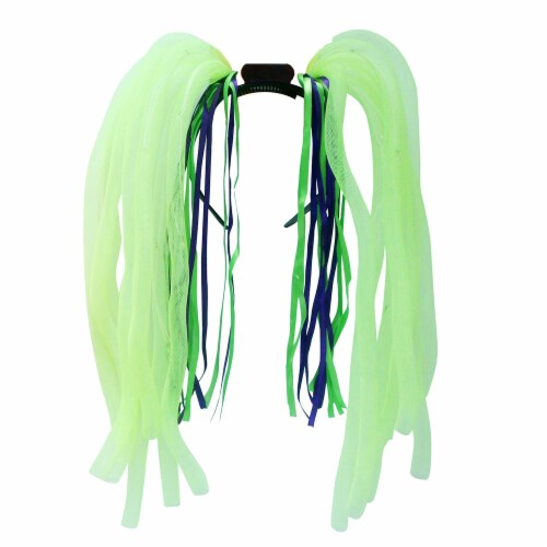 Occasions Flashing Headband - Green Perspective: front