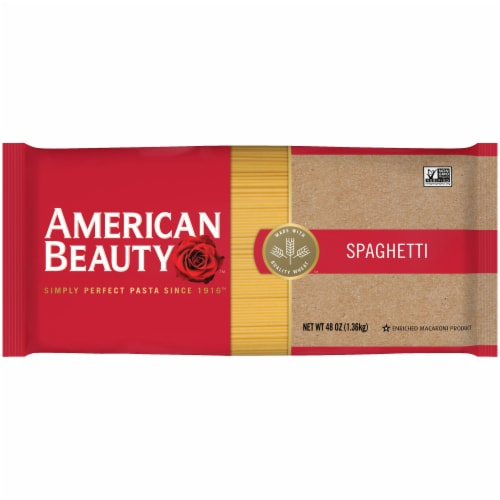 American Beauty Spaghetti Pasta Perspective: front