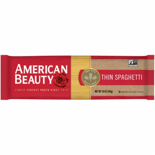 American Beauty Thin Spaghetti Perspective: front