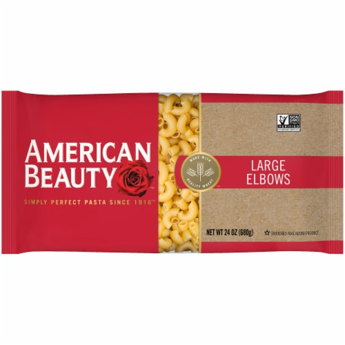 American Beauty Large Elbows Pasta Perspective: front