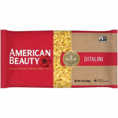 American Beauty Ditalini Pasta Perspective: front