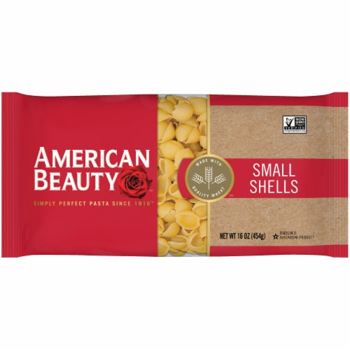 American Beauty Small Shells Pasta Perspective: front