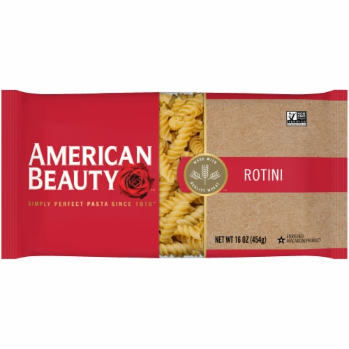 American Beauty Rotini Pasta Perspective: front