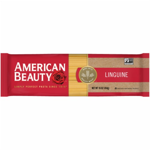 American Beauty Linguine Pasta Perspective: front