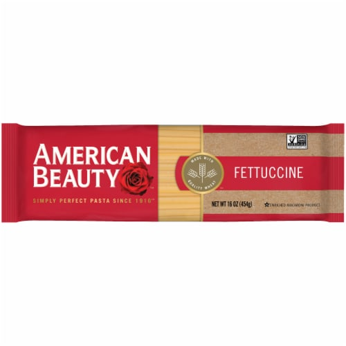 American Beauty Fettuccine Pasta Perspective: front