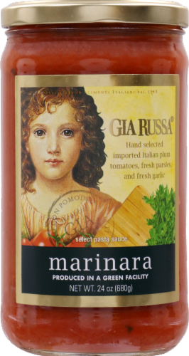 Gia Russa Marinara Pasta Sauce Perspective: front
