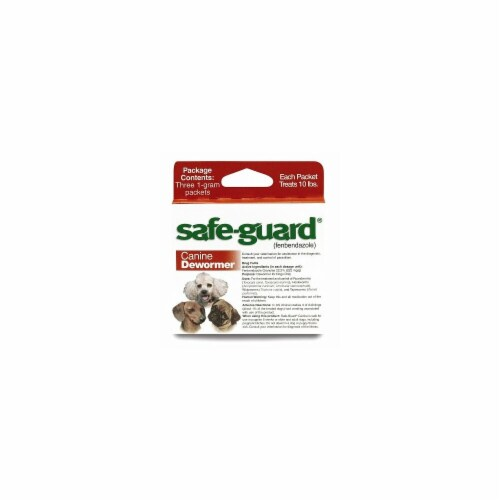 Safeguard 4 Canine Dewormer Perspective: front