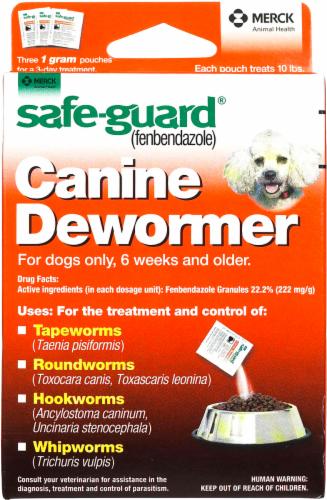 Safeguard 4 Dog Canine Dewormer - 10 lb Perspective: front
