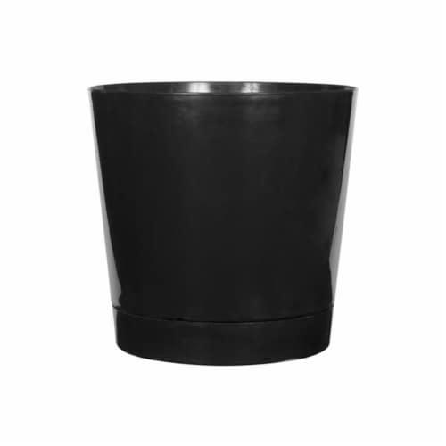 Novelty Majestic Planter - Black Perspective: front