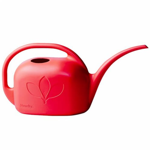Novelty Watering Can - Red Perspective: front