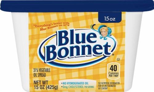 Blue Bonnet Vegetable Oil Spread Perspective: front
