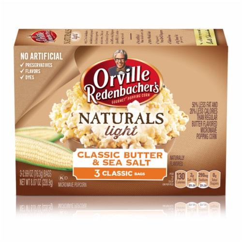 Orville Redenbacher's Classic Butter & Sea Salt Popcorn Perspective: front