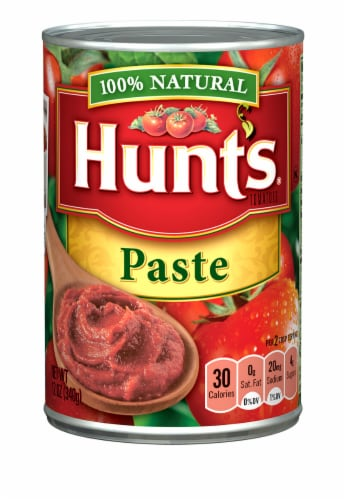Hunt's Tomato Paste Perspective: front