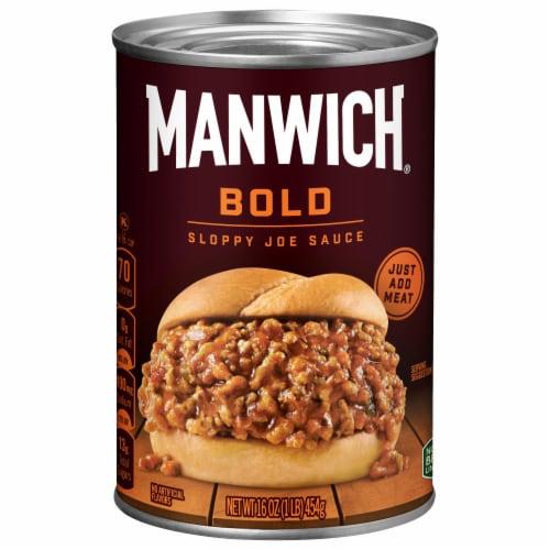 Manwich Bold Sloppy Joe Sauce Perspective: front