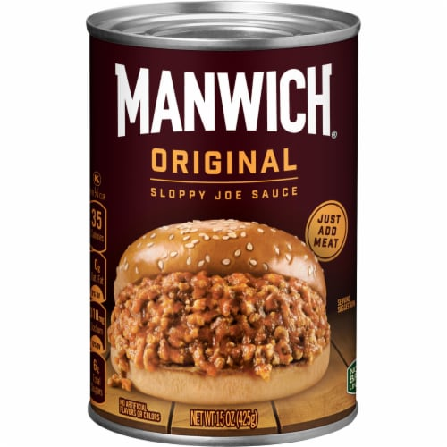 Hunt's Manwich Original Sloppy Joe Sauce Perspective: front