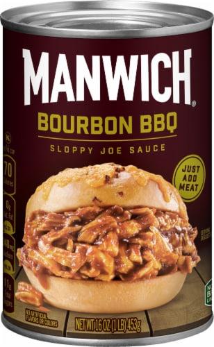 Manwich Bourbon BBQ Sloppy Joe Sauce Perspective: front