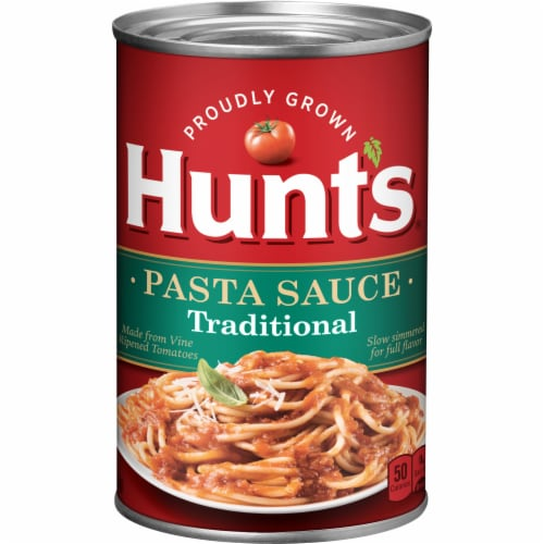 Hunt's Traditional Pasta Sauce Perspective: front