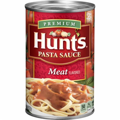 Hunts Meat Pasta Sauce Perspective: front