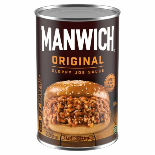 Manwich Original Sloppy Joe Sauce Perspective: front