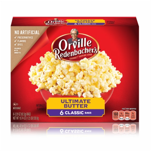 Orville Redenbacher's Ultimate Butter Popcorn Perspective: front