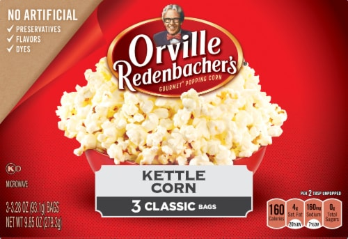 Orville Redenbacher's Microwave Kettle Corn Perspective: front