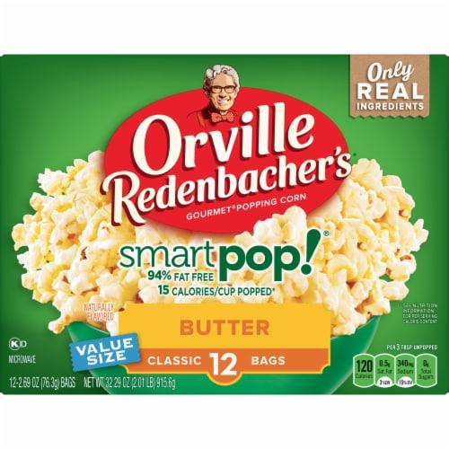 Orville Redenbacher's SmartPop! Butter Popcorn Perspective: front