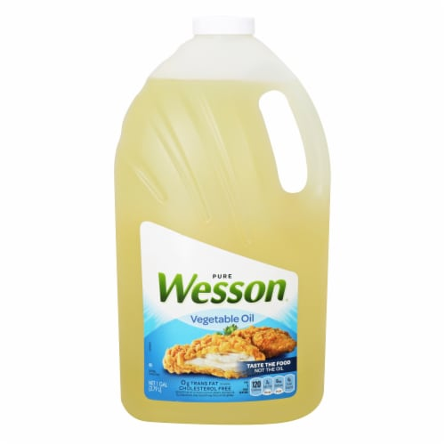 Wesson® Pure Vegetable Oil Perspective: front