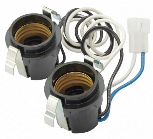 Broan Lamp Socket Harness HAWA R111630 Perspective: front
