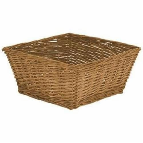 Redmon Large Willow Basket Perspective: front