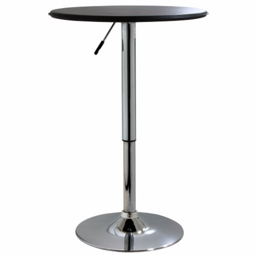 AmeriHome Classic Bistro Table - Round Perspective: front