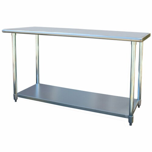 Sportsman Series Stainless Steel Work Table 24 x 60 Inches Perspective: front