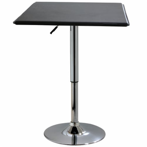 AmeriHome Classic Bistro Table - Square Perspective: front