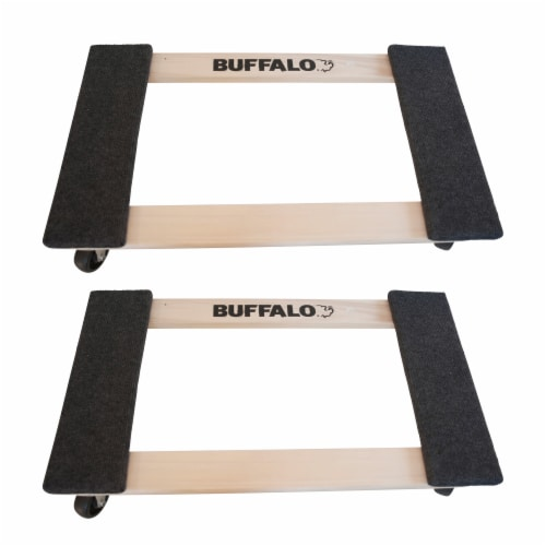 Buffalo Tools 1000 Lb Furniture Dolly Set - 2 Piece Perspective: front