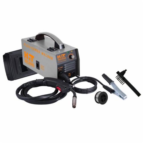 HIT 80 Amp Flux-Cored 120V MIG Welder Kit Perspective: front