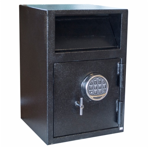 Buffalo Outdoor Deposit Drop Safe with Electronic Lock Perspective: front
