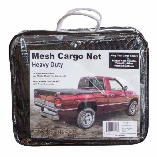 Sportsman Series Heavy Duty Mesh Cargo Net 4 ft. x 6 ft Perspective: front